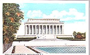 Lincoln Memorial Washington Dc P38616