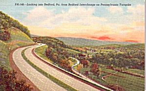 Pennsylvania Turnpike Bedford Pa P38625