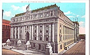 U S Custom House New York City Ny P38631