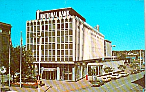 Rock Island Illinois First National Bank Postcard P38694