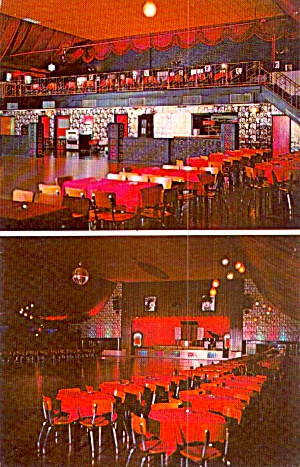 Davenport Iowa The Legendary Col Ballroom Postcardp38716