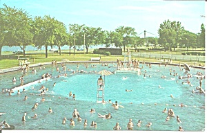 Clinton Iowa Municipal Swimming Pool P38723
