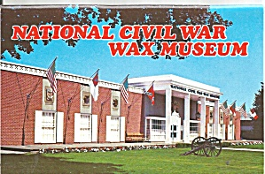 Gettysburg Pa National Civil War Wax Museum Sf0726