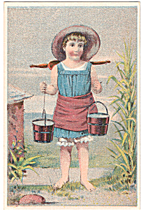 The Star Washer. Trade Card