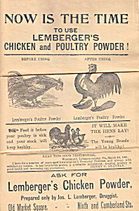 Lemberger''s Chicken And Poultry Powder