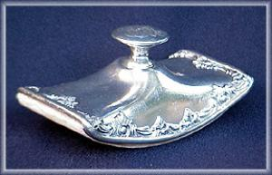 Victorian Silverplate Ink Blotter