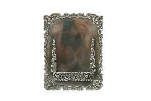 Calling Card Holder- Silverplate