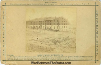 Photographs, Libby Prison, Richmond, Virginia