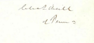 Autograph, Charles O'neill