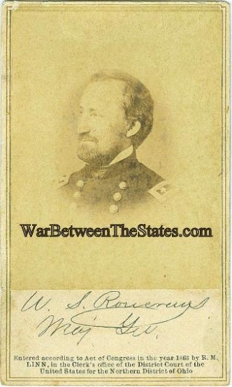 Cdv General William S. Rosecrans