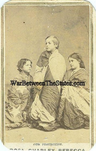 Cdv, The Slave Children Of New Orleans