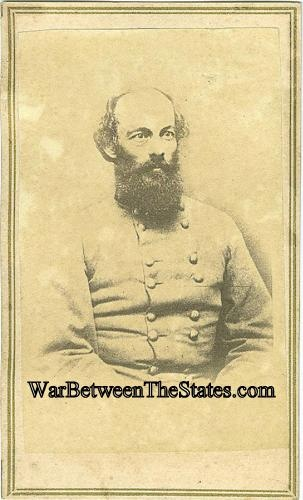 Cdv General Edmund Kirby Smith