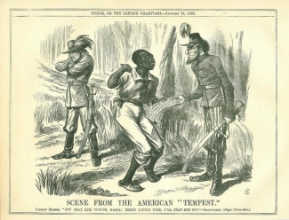 Scene From The American Tempest, Lincoln, Davis & Slave