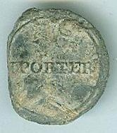 Thomas Porter Slave Merchant Button
