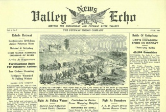 Valley Echo News, Hagerstown, Maryland