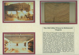 Libby Prison Display