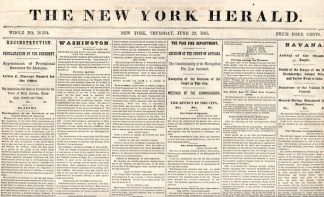 The New York Herald, June 22, 1865