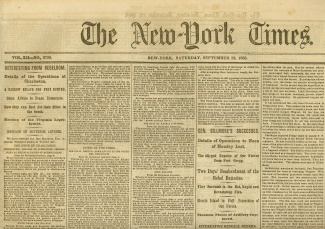 The New York Times, September 12, 1863