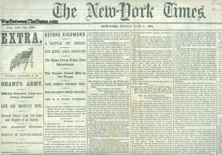 The New York Times, June 5, 1864