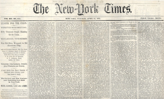 The New York Times, April 21, 1863