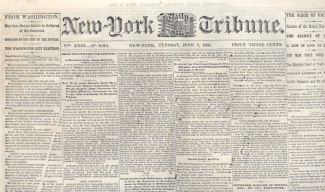 New York Daily Tribune, June 2, 1863