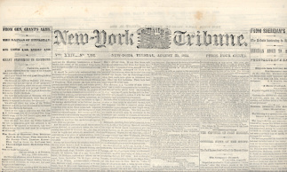 New York Daily Tribune, August 30, 1864