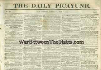 The Daily Picayune, May 16, 1840