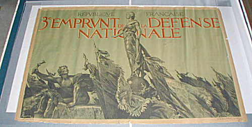 Group Of 5 Original French Wwi Posters