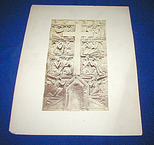 Original Photograph Saint-gaudens Sculpture